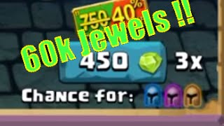 Clash Of Lords 2- massive 60K+ jewels x3 spin with Lucky spins !!!!!