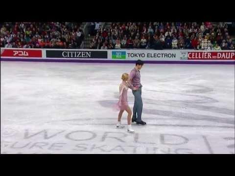 Amazing performance of Volosozhar and Trankov at 2013 World Championship