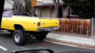 """Lifted El Camino on 35"""" Tires !!!"""