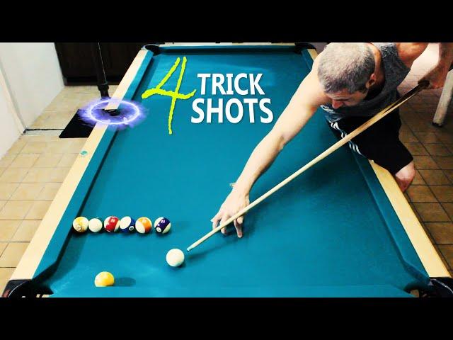 4 Pool Trick Shots: Volume 17
