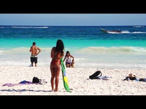 Tulum Mexico - Paraiso Beach