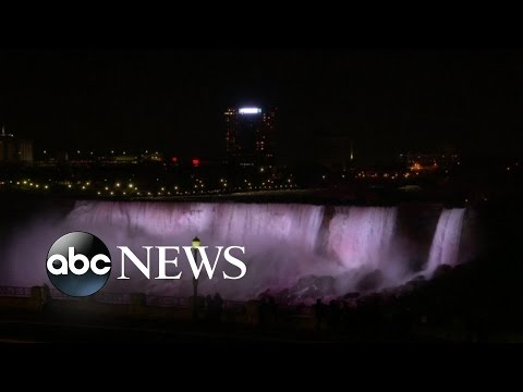 New Lights Illuminate Niagara Falls But Come With $3M Price Tag