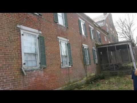 Abandoned house in va with underground tunnel used for civil war soldiers