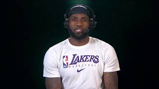 LeBron James Talks Anthony Davis, Lakers Championship and Dwyane Wade Joining TNT