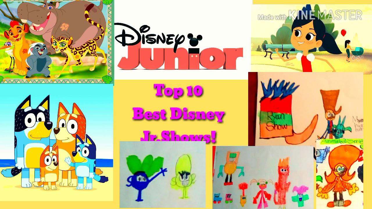 Best New Shows 2021 Top 10 Best Disney Junior Shows 2019 2020 and 2021! NEW SHOWS
