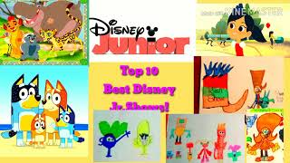 10.the lion guard 2016-present 9.bluey 2019-present new animated preschool series 8.???(unknown television series) 7.mickey mouse clubhous...