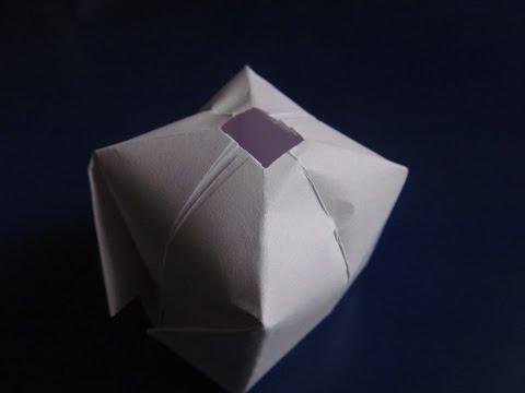 ВОДЯНАЯ БОМБОЧКА - Легкое Оригами из бумаги для начинающих своими руками. Видео