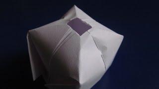 ВОДЯНАЯ БОМБОЧКА - Легкое Оригами из бумаги для начинающих своими руками. Видео(ПОДАРОК моим зрителям ЗДЕСЬ: https://clck.ru/9ShzR В этом видео я научу Вас делать своими руками оригами для детей..., 2014-12-15T12:00:12.000Z)
