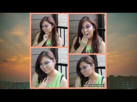 Colorful Summer makeup tutorial thumbnail