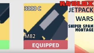 Roblox Jetpack Wars - M82 SNIPER SPAM MONTAGE