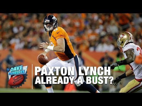 Is Paxton Lynch a Bust?| NFL Network | DDFP