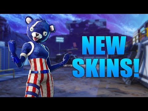 New 4th Of July Skins Gameplay New Fireworks Team Leader And More
