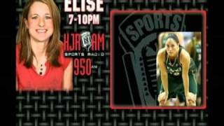 Sue Bird on KJR 950 Elise at Night (Pt.1)