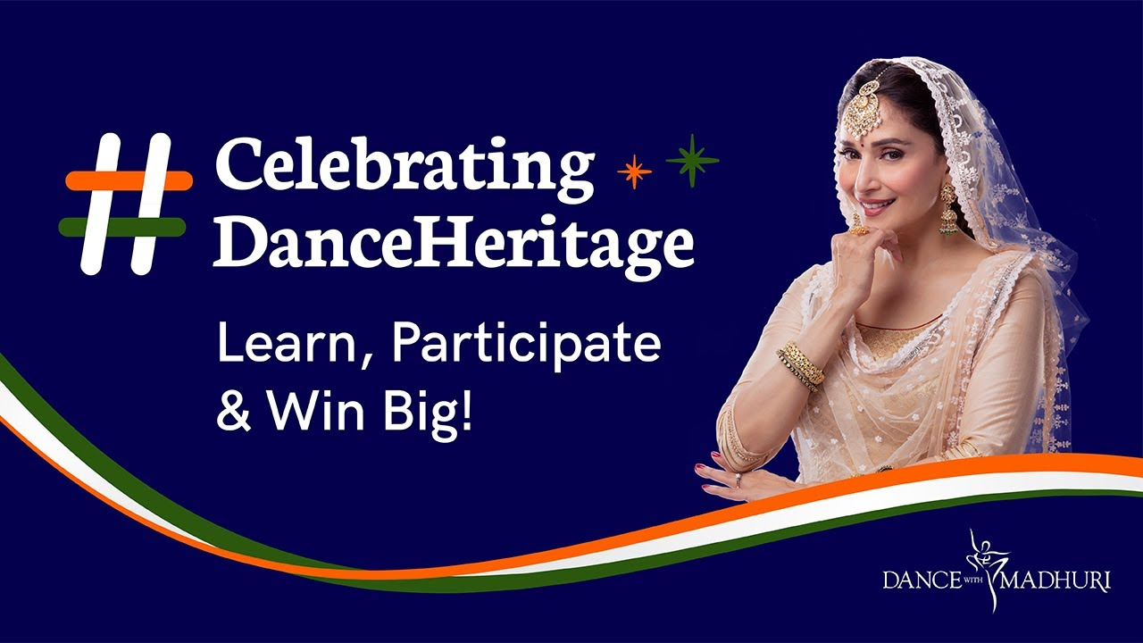 #CelebratingDanceHeritage - Learn, participate & win big | Dance With Madhuri