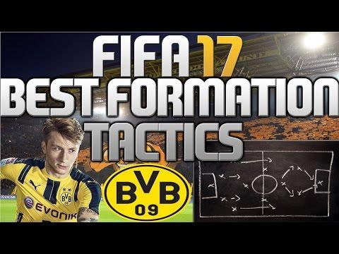 FIFA 17 - BEST FORMATION/AUFSTELLUNG VON BORUSSIA DORTMUND + ANWEISUNGEN (TIPPS) (DEUTSCH)