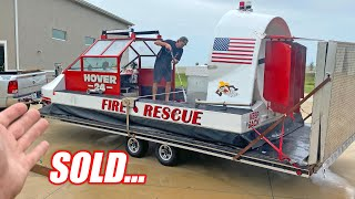 We're Selling Some of Our Fleet... Here's Why (RV, Hovercraft, Jet, etc.)