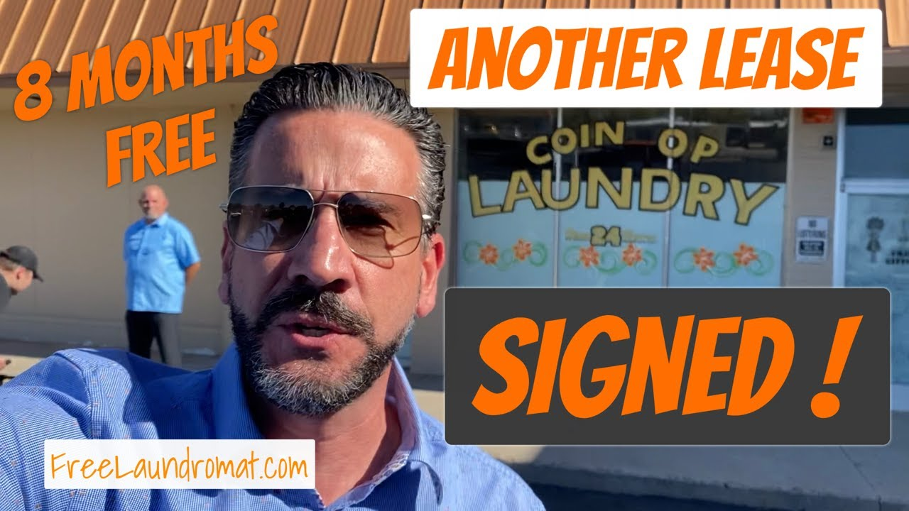 Another Coin Laundromat lease signing! Tucson, AZ USA!