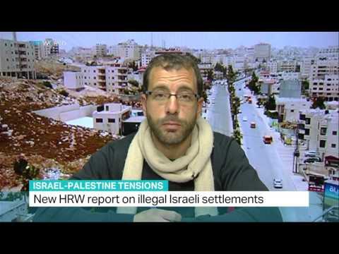 HRW report on Israeli settlement abuses