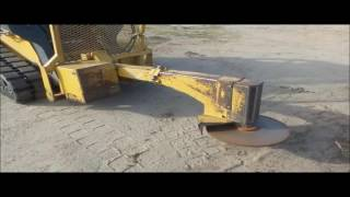 2011 Robo-Cut RC26ERMR skid steer tree saw for sale | no-reserve Internet auction December 29, 2016