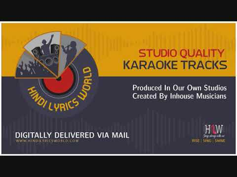 Tu Kal Chala Jayega Karaoke - Naam (Manhar Udhas, and Mohammad Aziz)