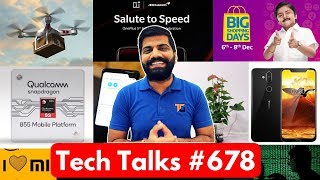Tech Talks #678 - Nokia 8.1, Snapdragon 855, OnePlus 6T McLaren, Meizu 16th, M6T & C9, Mi Sale