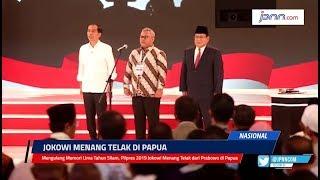 VIDEO: Mengulang Memori Lima Tahun Silam, Pilpres 2019 Jokowi Menang Telak dari Prabowo di Papua - JPNN.COM