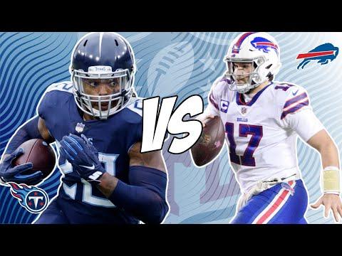 Tennessee Titans vs Buffalo Bills 10/18/21 NFL Pick and Prediction NFL Week 6 Picks