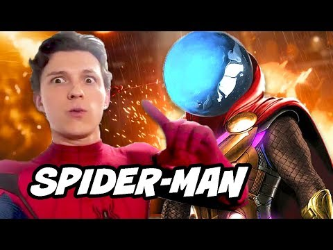 Spider Man Far From Home Mysterio Scene Explained