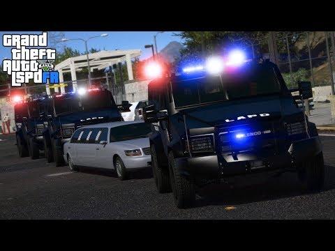 GTA 5|LSPDRF #214|POLICIA de GUARDAESPALDAS - CUIDANDO AL JEFE|EdgarFtw thumbnail