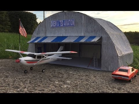 WLToys F949 Cessna 182 Flying with the Dukes 10.12.16