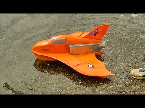 "RC EDF SEAPLANE ""JUDI SEAJET"" SUPER LIGHTWEIGHT FOAM MODEL FLIGHT DEMONSTRATION"