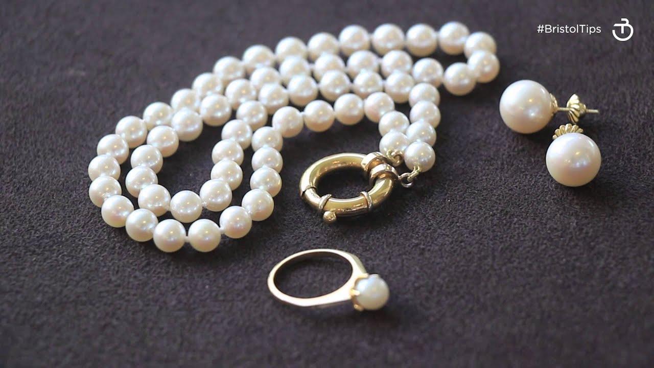 7cd9c0721e2a Bristol Tips - Cómo limpiar joyas con perlas cultivadas - YouTube