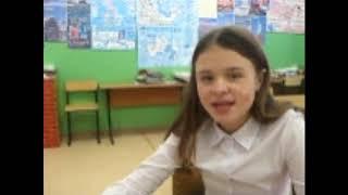 Про октябрьский выпуск классной газеты / Видео