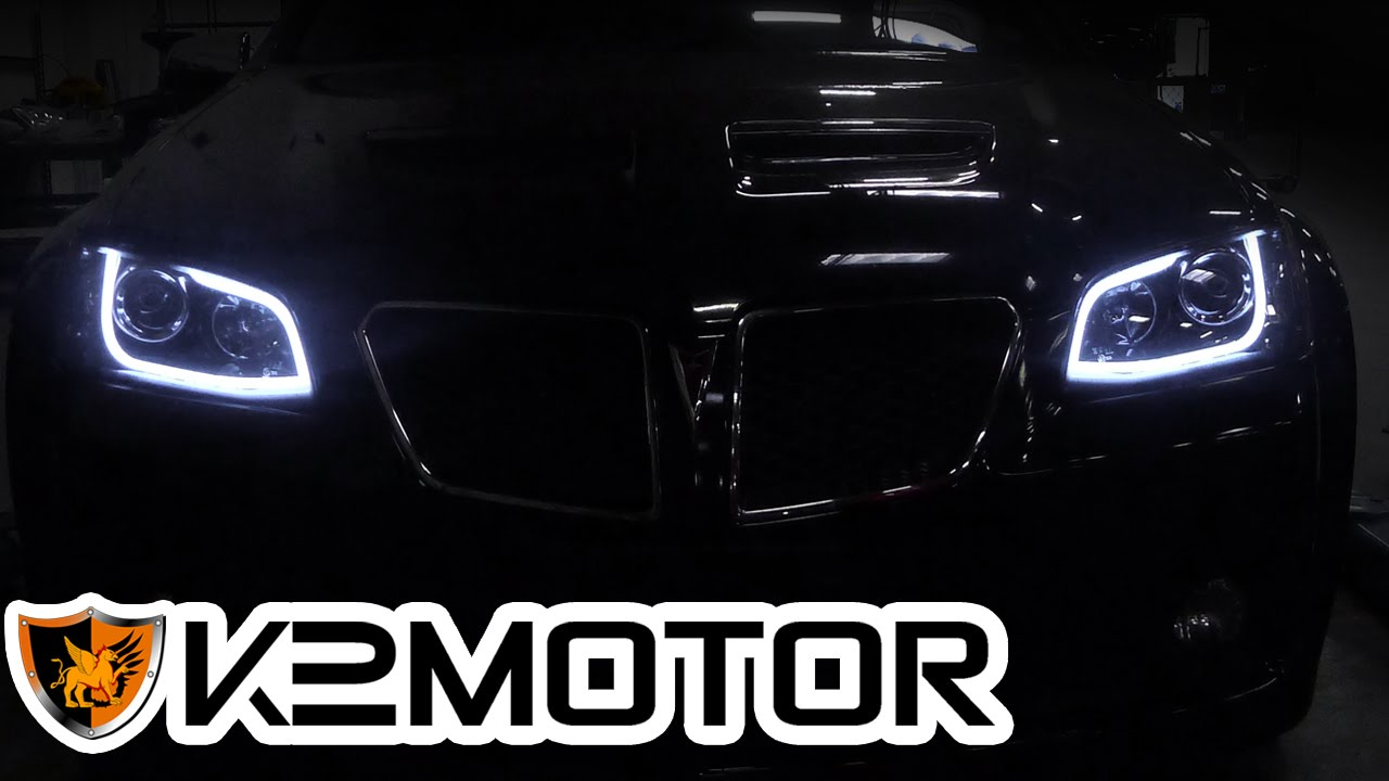 Next Lighting Corp K2motor Installation Video: 2008-2009 Pontiac G8 Projector
