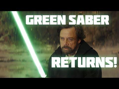 The Return of Luke's Green Lightsaber