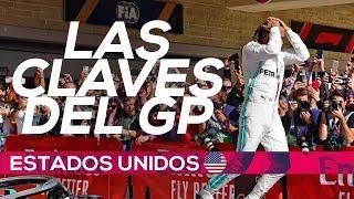 Lewis Hamilton, hexacampeón del mundo de F1 | Resumen GP Estados Unidos F1 2019