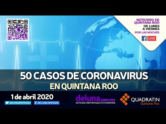 NOTICIERO DE QUINTANA ROO 1 DE ABRIL 2020