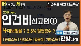[사업주를 위한 세금특강] #인건비신고편 -근로소득자(…