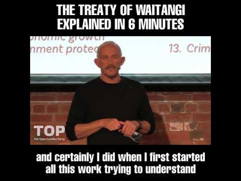 The Treaty of Waitangi explained in 6 minutes