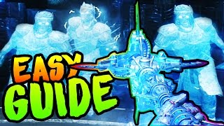 ORIGINS ULTIMATE WATER ICE STAFF BUILD & UPGRADE GUIDE! BO3 Zombies Chronicles ULLS ARROW Easter Egg