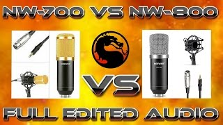 nw 700 vs nw 800 with full edited audio