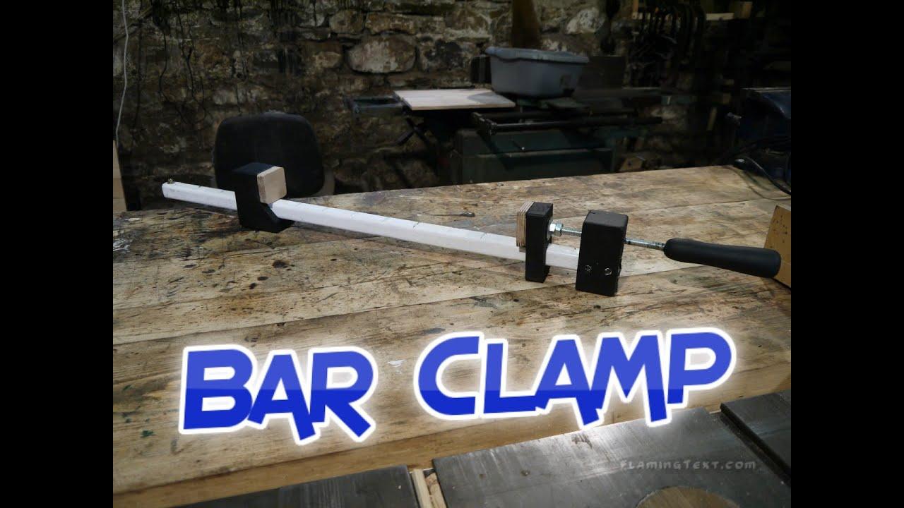 Homemade Bar Clamp Youtube