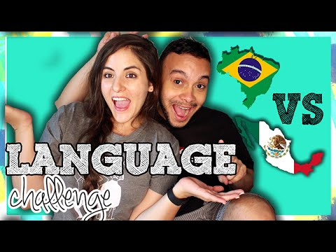 LANGUAGE CHALLENGE: PORTUGUESE VS SPANISH