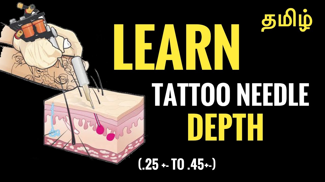 How to do tattoo smooth : Lining and shading in Tamil
