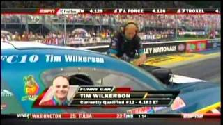 Tim Wilkerson Johnny Gray Paul Lee Interview  FC Final Session Qualifying Tri City Ford Thunder Valley Nationals 2011