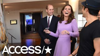 Prince William Jokes That Kate Middleton 'Ruined' Artist's Painting At Duo's Royal Return | Access