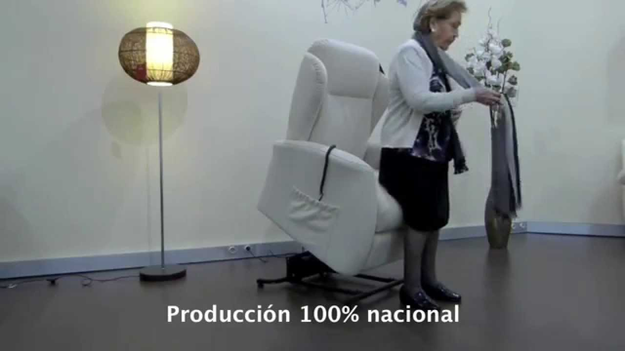 Como funciona un sill n levanta personas youtube - Como tapizar un sillon ...