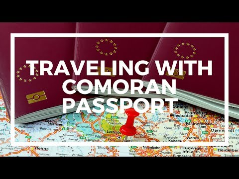 My Comoros passport: Getting a visa and traveling
