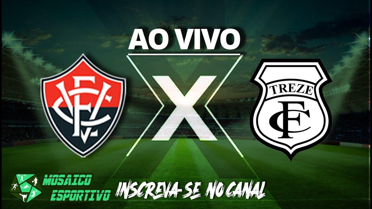 Copa do Nordeste: transmissão ao vivo Vitória x Treze