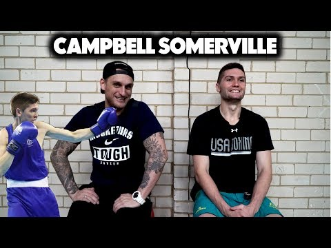 Campbell Somerville Post Commonwealth Games Interview